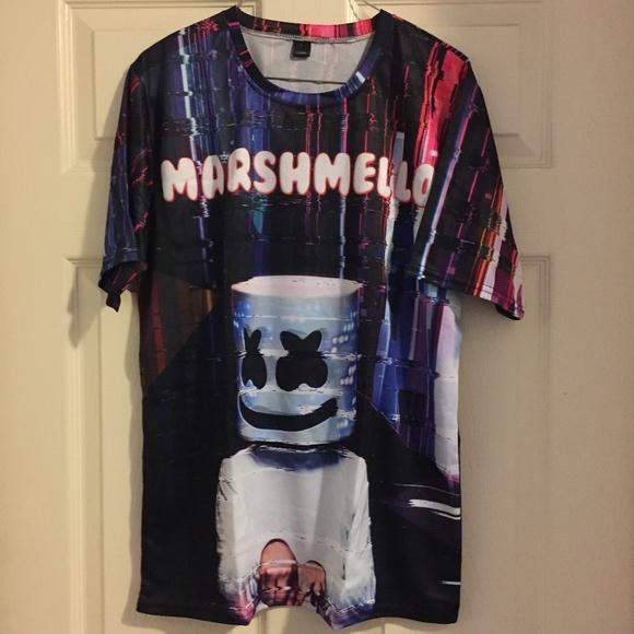 Tops - Marshmello shirt unisex NWOT